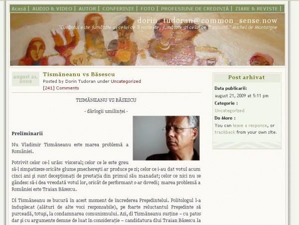 blog tudoran