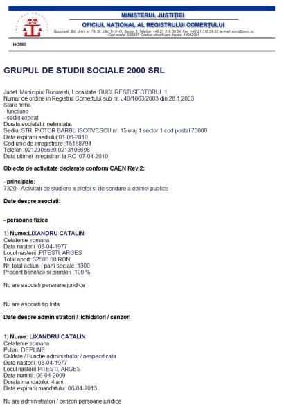 GRUPUL DE STUDII SOCIALE 2000 SRL_3