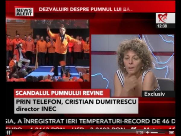 """Adina Anghelescu - formata la """"scoala"""" lui Sorin Rosca Stanescu - manipulează în direct"""