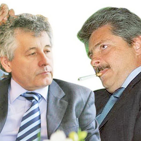 Alexandru Bunea (stânga), expertul lui SOV (dreapta)