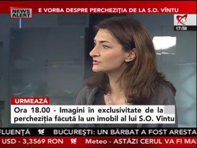 Ionica (alias Oana) Stănciulescu, vuvuzeaua lui SOV