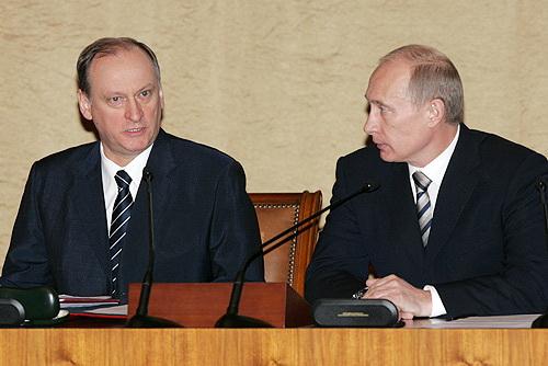 Generalul Patruşev şi generalissimul Putin (Şeful FSB şi şeful şefului FSB) - doi duşmani în viaţă ai democraţiei occidentale