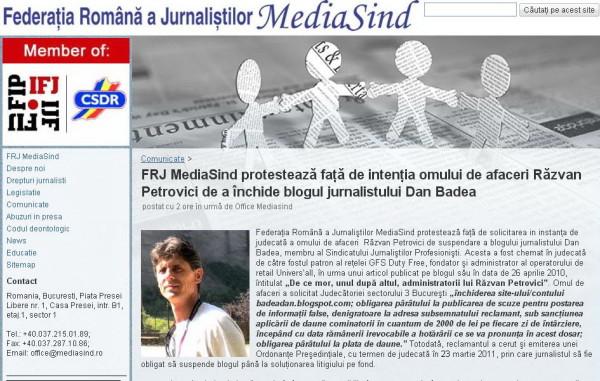protest Mediasind