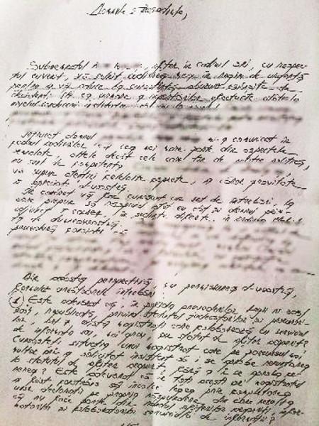Documentul publicat de TOPALĂ