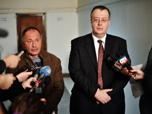 Șantajiștii Sorin Rosca Stanescu și Bogdan Chirieac