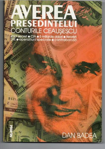 Volumul meu, Averea Președintelui (coperta 1) - Editura Nemira, 1998
