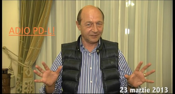TRAIAN BĂSESCU: ADIO, PD-L!...