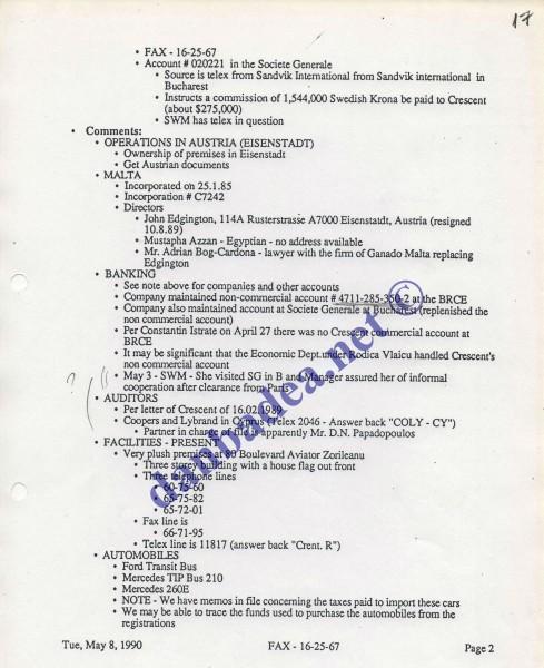 Proiect R: Pista CRESCENT, pag 2