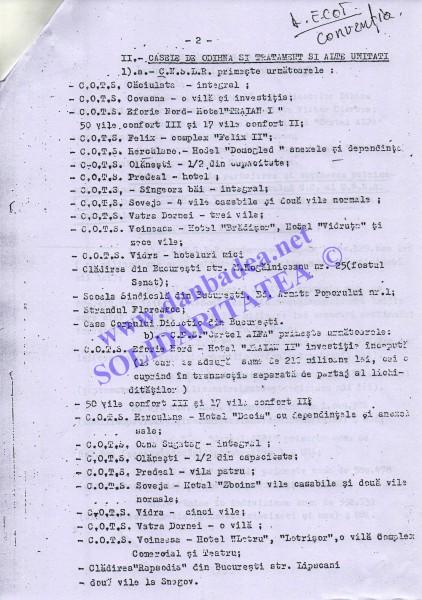 7 nov. 1991: ÎMPĂRȚIREA PRĂZII ÎNTRE CIORBEA, HOSSU ȘI MITREA (pag 2)
