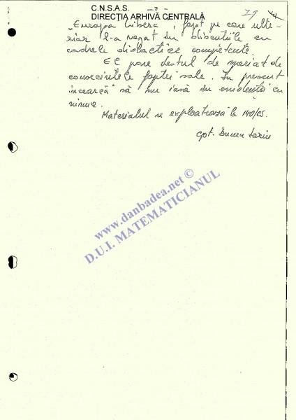 Informarea sursei BARBU (pag.3)