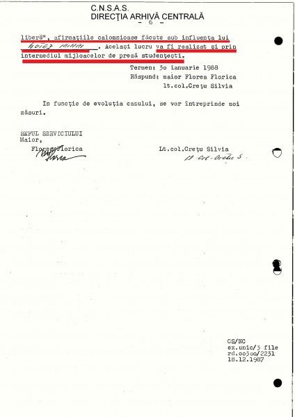 Planul de Măsuri din 16 decembrie 1987 (pag 6)