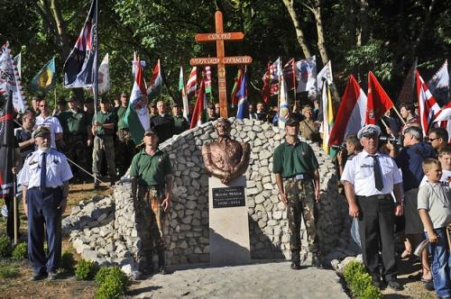 Una dintre statuile lui Miklos Horthy, dezvelite recent în Ungaria