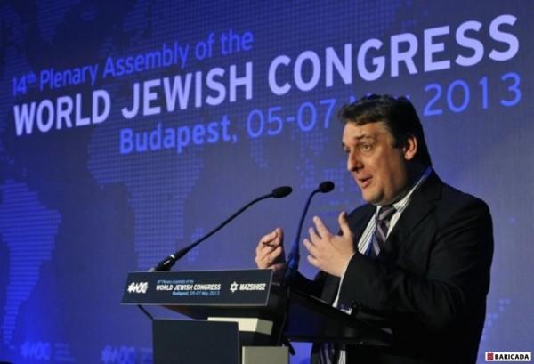 Congresul Mondial Evreiesc (foto BARICADA)