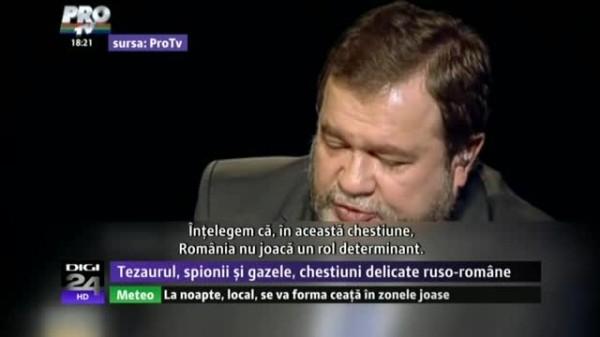 Ambasadorul rus la Bucuresti face pe prostul in chestiunea Tezaurului