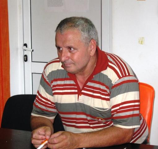 Fostul prefect ialomițean, Cazacu Marinică