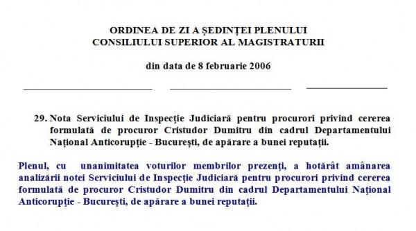 Obraznic, procurorul Cristudor a cerut CSM să-i repereze onoarea pătată de presă. Șmecherul avea nevoie de certificat de bună purtare!