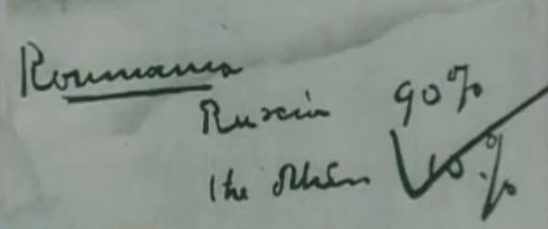 Moscova, oct 1944: Documentul pe care s-a consemnat influenta Rusiei în România