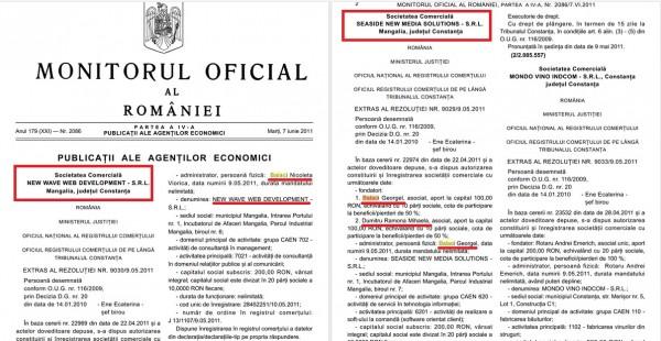 afaceri frumoase ale gornistelor lui Miculescu