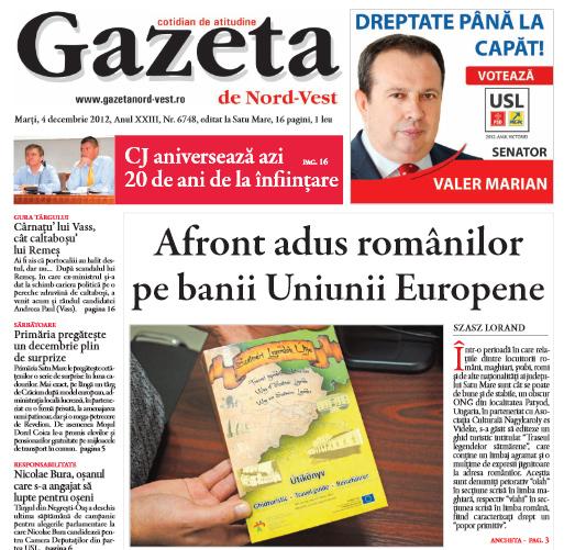 Articolul (dreapta jos) care a generat reacția profesorului de istorie sârb din Voivodina