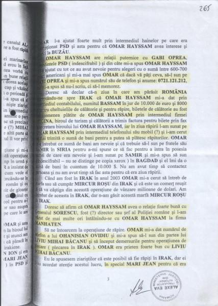 Declarație Munaf privind legaturile lui Hayssam cu PSD-istul Gabriel Oprea
