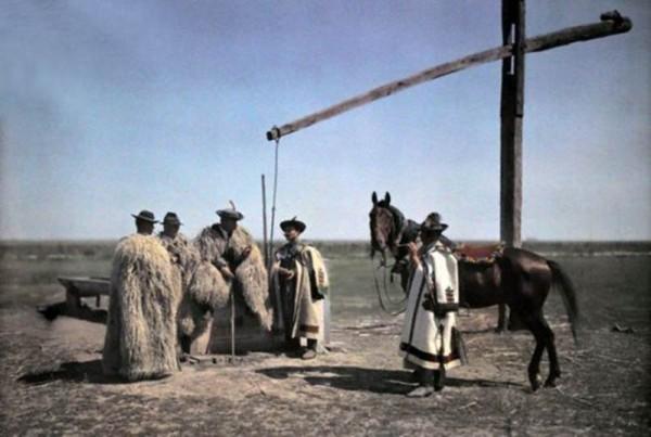 cowboy unguri in pusta, urmașii lui Attila
