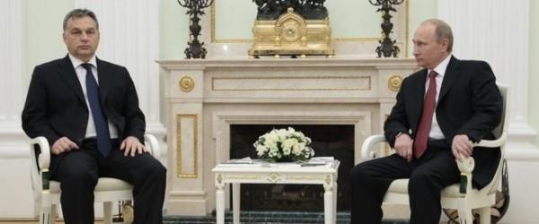 Orban și Putin la Moscova