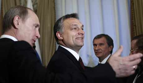Putin și prietenul Orban, doi dictatori moderni și revizioniști