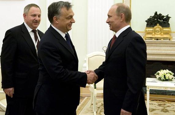 Vladimir Putin și Victator Orban, doi frați de la răsărit, pentru că revizionismul ungar nu apune niciodată.