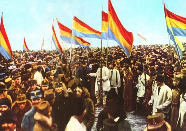 Întâi decembrie 1918 la Alba Iulia.(foto: Samoilă Mârza)