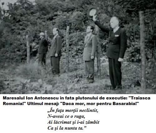 Execuția Mareșalului Ion Antonescu, la doi ani după ce a fost trădat și vândut de Mihai I