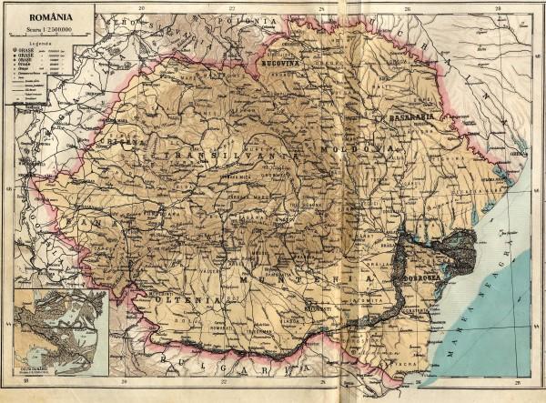 ROMÂNIA ÎNTREGITĂ - ROMÂNIA MARE