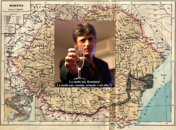 LA MULȚI ANI ROMÂNIA! LA MULȚI ANI ROMÂNI, ORIUNDE V-AȚI AFLA! SĂ RETRĂIM MAREA UNIRE CU BASARABIA STRĂBUNĂ ȘI CU CELELALTE TERITORII ROMÂNEȘTI TĂIATE CU BARDA BOȘEVICĂ DIN TRUPUL SFÂNT AL ȚĂRII! Așa să ne-ajute Dumnezeu!!!