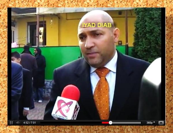 Iyad Diab, musulmanul creștinat