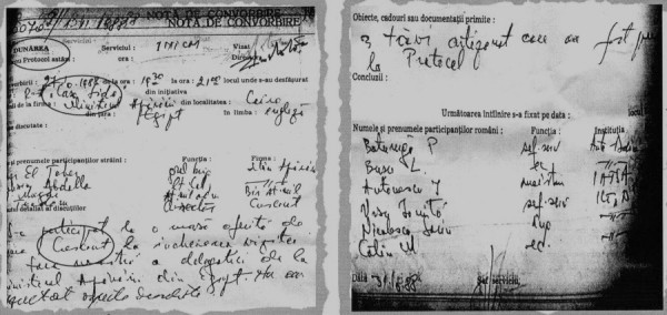 documentul primit de la HARNAGEA, ca să stopez, la schimb, o dezvaluire despre Constantin Rotaru. Deciyia a fost a mr. Cornel Nistorescu