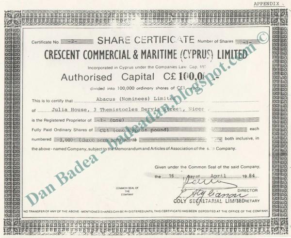 crescent certificat_abacus ltd